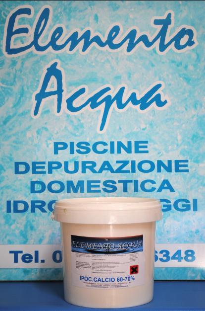 Ipoclorito di calcio prodotti chimici per piscina elemento acqua - Ipoclorito di calcio per piscine ...