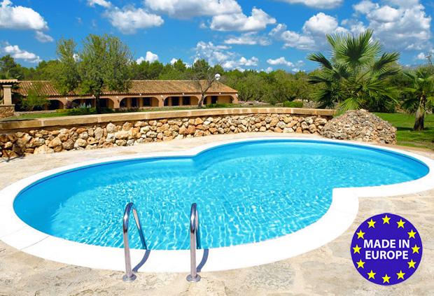 Piscina fuori terra haway elemento acqua piscine in offerta - Piscina plastica rigida ...