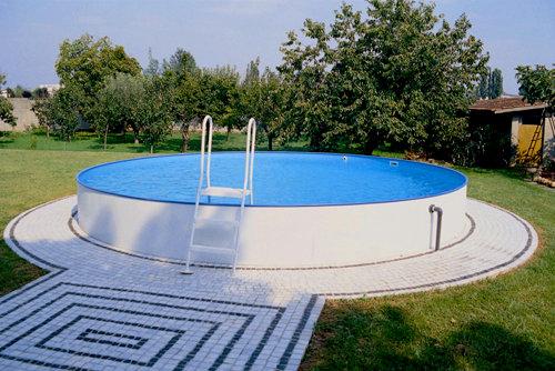 Piscina fuori terra rio montaggio piscine interrate elemento acqua
