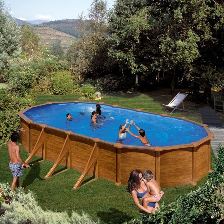 Piscine fuori terra mauritius e pacific elemento acqua - Scala per piscina fuori terra ...